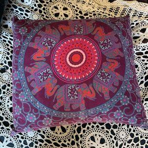 hippie style pillow